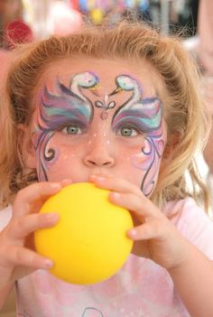 Great circus week activity and game ideas!  Face painting will be a must.