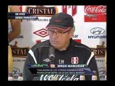 Sergio Markarián: Perú llega a Asunción a ganar a Paraguay [VIDEO]