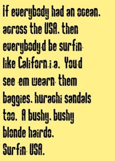 Beach Boys - Surfin' USA - song lyrics, song quotes, songs, music lyrics, music quotes,