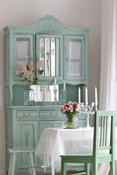 Prodigious Cool Tips: Shabby Chic Bathroom Sink shabby chic bedroom rustic.Shabby Chic Wall Decor Families shabby chic home romantic.Shabby Chic Farmhouse Tips. Armoire Shabby Chic, Shabby Chic Mode, Estilo Shabby Chic, Shabby Chic Farmhouse, Shabby Chic Interiors, Shabby Chic Bedrooms, Shabby Chic Cottage, Shabby Chic Style, Shabby Chic Furniture