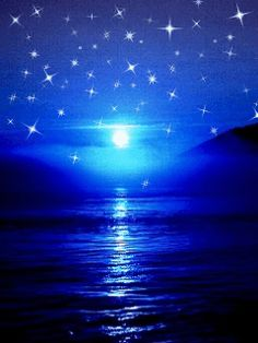 Star And Sun On The Sea Animation Wallpaper For Phones Images 1