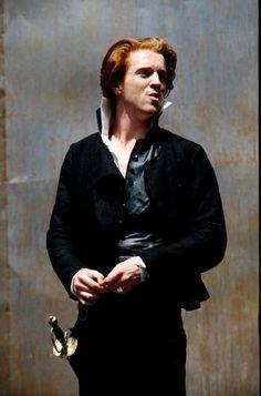 """1994 - """"Hamlet"""" Open Air Theatre, Regent's Park. Damian Lewis as Hamlet."""