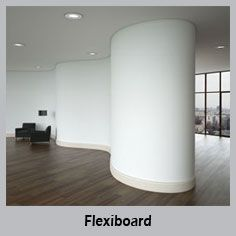 Curved plasterboard profiles from V-Cut