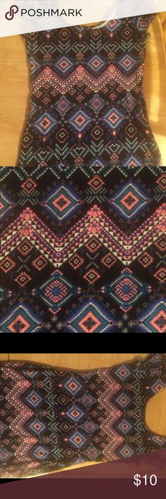 Charlotte Russe Aztec print bodycon dress sz small This dress is new never worn without tags and is in excellent condition. It's very cute. I just never had anywhere to wear it and just a bit young for my taste. Charlotte Russe Dresses Mini