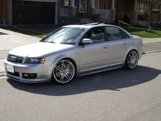 B6 with RS4 wheels
