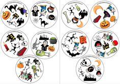 Dobble de Halloween   El ESPACIO DE LAS LETRAS