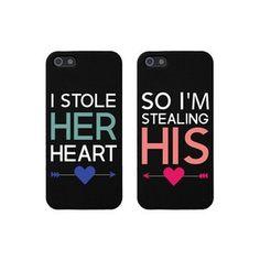 Boyfriend and girlfriend phone case