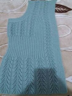 Diy Crafts - knitting,crochet-Blanket with Zig Zag Pattern Free Knitting Stiches, Easy Knitting, Baby Knitting Patterns, Knitting Designs, Knitting Needles, Pull Crochet, Knit Crochet, Cardigan Au Crochet, Pullover Design