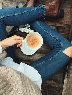 """elorablue: """" Cinnamon & Coffee - By Camilla Pihl """""""