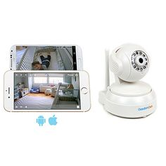 ComfortCam is the safest and best Wifi enable baby monitor for parents. You own and store your own video stream. No shared cloud servers. No risk of creepy hackers.