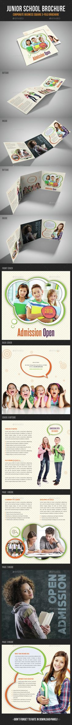 Junior School Square 3-Fold Brochure V03