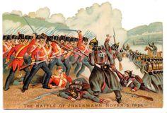 Battle of Inkerman 1854.
