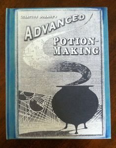 Handmade Harry Potter Hogwarts Potions Textbook