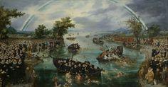 Fishing for Souls, Adriaen Pietersz. van de Venne, 1614