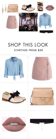 """LA LA LAND OUTFIT INSPIRED PT 2"" by carolinecorradine on Polyvore featuring moda, Chicwish, Pokemaoke, Chloé, 8 Other Reasons, Tiffany & Co., EmmaStone, ryangosling y lalaland"