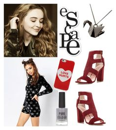 """""""#I.K.R.?"""" by juromi on Polyvore featuring Jaded, Marc Jacobs, New Look, Origami Jewellery, Heidi Swapp and Kate Spade"""