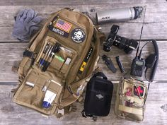 LOADOUT: EVERYDAY COYOTE PACK I love it when readers decide to share the content of their packs. Here's what Jeremy sent us…
