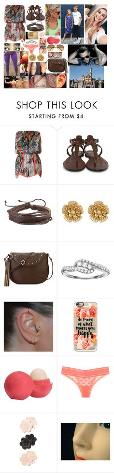 """Disneyland Day 2"" by queennikkiufc ❤ liked on Polyvore featuring Frye, Zodaca, Miriam Haskell, Nine West, I Promise You, Casetify, Eos and H&M"