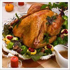 Bourbon Glazed Turkey