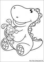 blues clues coloring pages on coloring bookinfo - Blues Clues Coloring Pages
