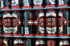 First pallet of Deviant Dale's TALLBOYS at Oskar Blues. This beer is a beauty. Cannot wait to be able to buy it in 16oz cans. #beer