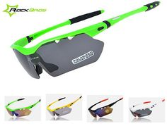 RockBros TR90 Polarized Cycling Sun Glasses Outdoor Sports Bicycle Glasses Bike Driving Eyewear Sunglasses Goggles 5 Lens
