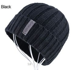 beanies warm bonnet enfant wool cap boy striped casual caps gorro