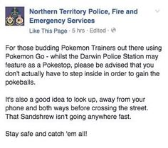 An Australian Police Station is Having Problems With Pokemon Go