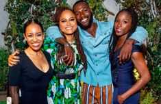Ava DuVernay and the cast of #QueenSugar hosted a season 3 premiere garden party in NYC  https://www.firstladyb.com/queen-sugar-season-3-premiere-garden-party-in-the-nyc/