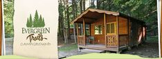 Camping cabins in western NY - good for a romantic trip, or a group reunion! From $57 a night.