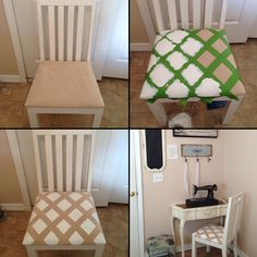 Do you have a piece of furniture that doesn't quite fit your style? Paint it and give it new life!