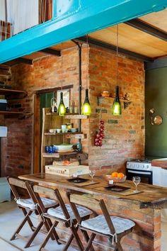 Cozinhas rústicas https://www.homify.com.br/livros_de_ideias/32500/tendencia-cozinhas-gourmet-sao-a-onda-da-vez