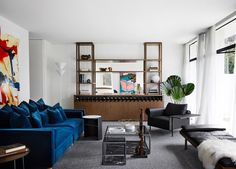 Living Room   A Mid-Century Sensation by Mim Design   est living