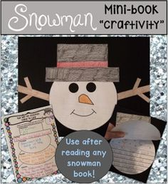 """""""Winter Activities"""" This is a snowman writing template perfect to use for any winter writing prompt, or after reading any snowman themed book! Click the picture to see all of the other activities included in this product!"""
