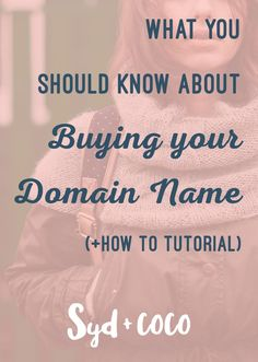 How to brainstorm an idea for your domain name. Step-by-step guide and how to register your domain name through a domain registrar.