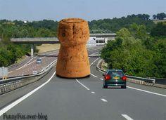 Un bouchon sur l'autoroute -  J'adore les photos!