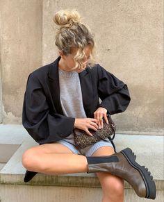 Foto Fashion, Fashion Beauty, Fashion Looks, Looks Style, Style Me, Quoi Porter, Fashion Outfits, Womens Fashion, Fashion Tips