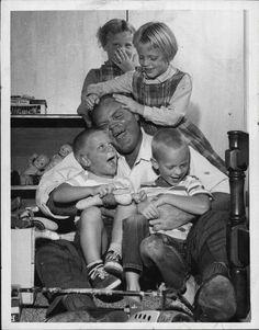 Dan Blocker & his kids
