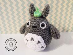 Totoro Plush - Mini Totoro-Amigurumi Totoro-Valentines Gift - Gift for Girlfriend - Tiny Totoro - Kawaii Plush - Cute Amigurumi - Cute Plush by BubblyTeaShop on Etsy https://www.etsy.com/listing/216165375/totoro-plush-mini-totoro-amigurumi