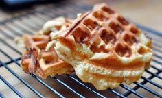 Recipe: Waffled brown sugar-banana cake [Poor Girl Gourmet]