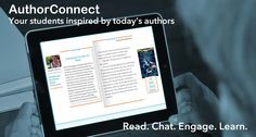 Bublish's AuthorConnect app for Edmodo will allow educators to invite authors from around the world into their classrooms for virtual chats with their students. High School Students, New Technology, Connect, Classroom, Author, App, Tools, Education, Learning
