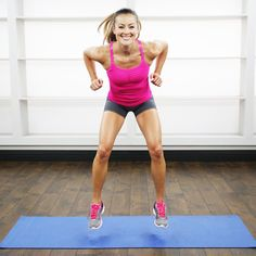 Five minutes to fit and fabulous legs! Try this quickie workout to tone up.