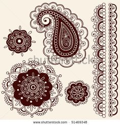 Paisleys and flowers from http://image.shutterstock.com/display_pic_with_logo/93211/93211,1271904104,2/stock-vector-hand-drawn-abstract-henna-mehndi-flowers-and-paisley-doodle-vector-illustration-design-elements-51469348.jpg