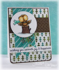 The Spotted Chick: The Holiday Sale Continues!!, Purple Onion Designs, Handmade Card