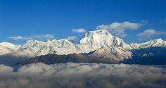 Monte Dhaulagiri (8161 m). Nepal