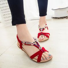 $8.15 (Buy here: https://alitems.com/g/1e8d114494ebda23ff8b16525dc3e8/?i=5&ulp=https%3A%2F%2Fwww.aliexpress.com%2Fitem%2F2017-Summer-Flat-Sandals-Ladies-Bohemia-Beach-Flip-Flops-Gladiator-Women-Shoes-Sandles-platform-Zapatos-Mujer%2F32795069347.html ) 2017 Summer Flat Sandals Ladies Bohemia Beach Flip Flops Gladiator Women Shoes Sandles platform Zapatos Mujer Sandalias C12W for just $8.15