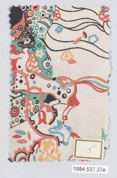 Textile sample > Gustav Klimt