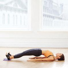 Ballet-Inspired Moves | Bridge With Leg Extension: Works core, hamstrings