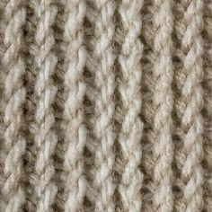 Tunisian Twisted Knit Stitch