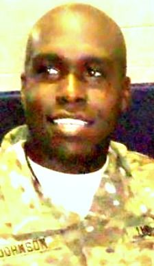 Army SGT. Justin R. Johnson, 25, of Hobe Sound, Florida. Died June 18, 2013, serving during Operation Enduring Freedom. Assigned to 10th Transportation Battalion, 7th Sustainment Brigade, Fort Eustis, Virginia. Died in Bagram AFB, Parwan Province, Afghanistan, of wounds suffered when enemy forces attacked his unit with indirect fire.